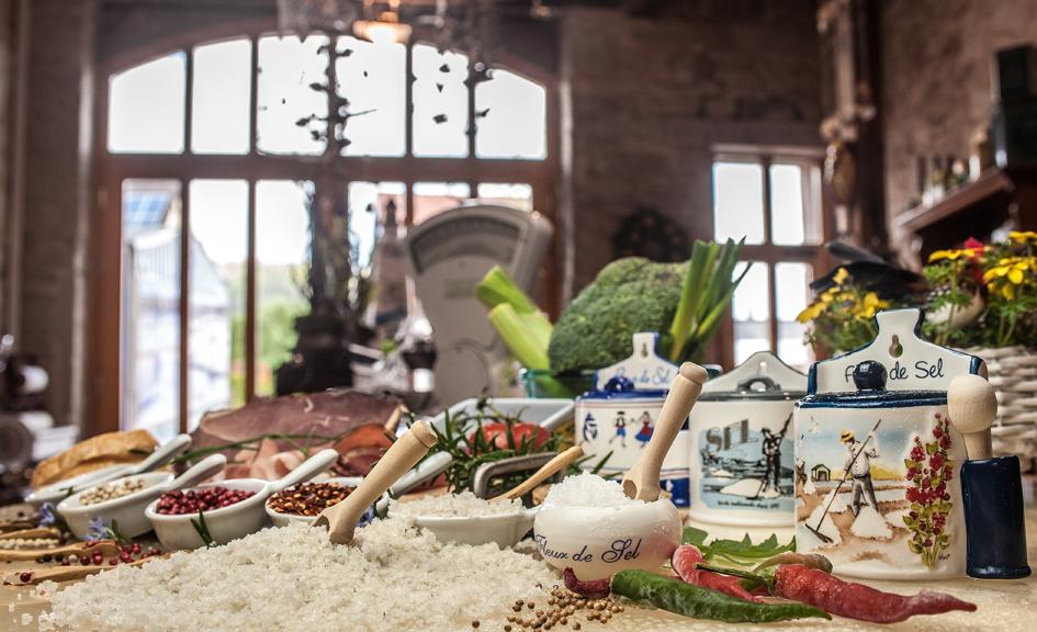 Fleur De Sel Kaufen Meersalz Ile De Re Toscana Gewürz Biova Salze