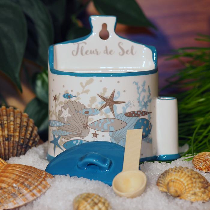 Fleur De Sel, Meersalz, Geschenkidee, Keramik, #salzkeramik